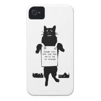 Monster Cat iPhone 4 Cover