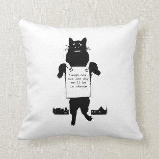 Monster Cat Pillow