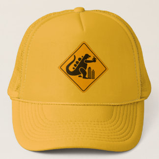 Monster Crossing Trucker Hat
