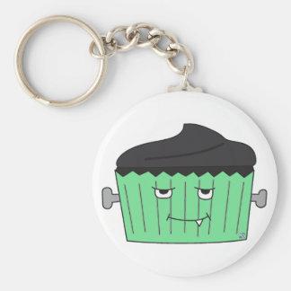 Monster Cupcake Keychain