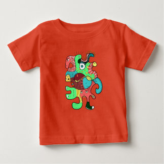 Monster doodle baby T-Shirt