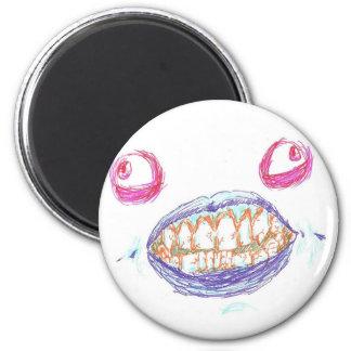 Monster Face Magnet