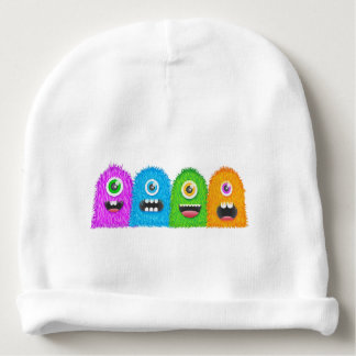 Monster Family Baby Beanie