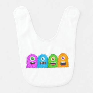 Monster Family Baby Bibs