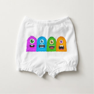 Monster Family Diaper Cover