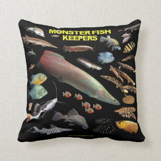 Catfish decorative pillows covers zazzle ca for Monster fish keepers