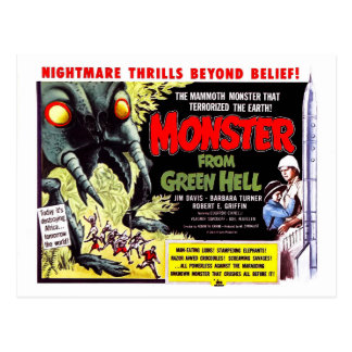 Monster from Green Hell Postcard