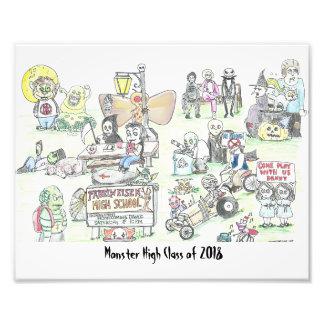 Monster High Photo Print