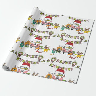 Monster Holiday Cheer Wrapping Paper