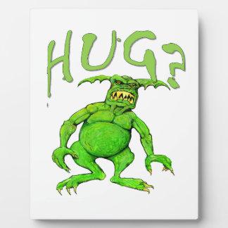 Monster Hug Plaque
