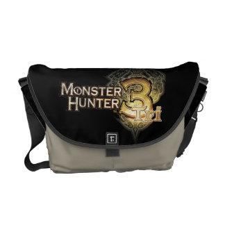 Monster Hunter Tri Logo Commuter Bags