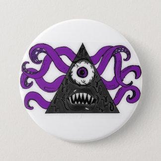Monster II 3 Inch Round Button