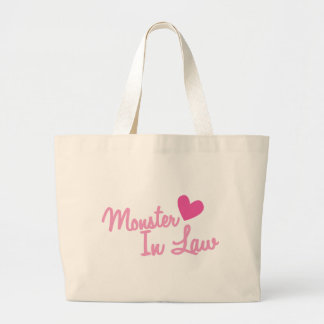 monster in law large tote bag