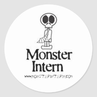 Monster Intern Stickers
