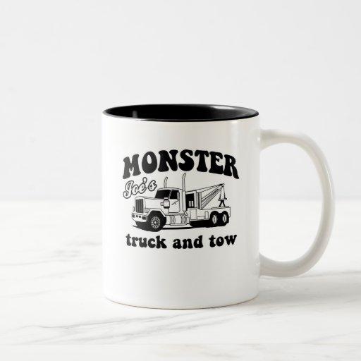 Monster Joe's Truck and Tow Mug