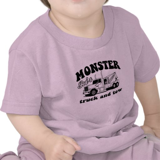 Monster Joe's Truck and Tow T Shirts