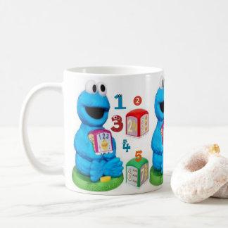 Monster juice children's mug cups white