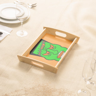 monster,kids halloween party decoration, service trays
