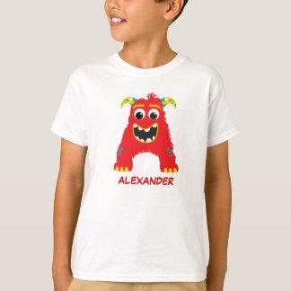 Monster Letters T-Shirt (Letter A)