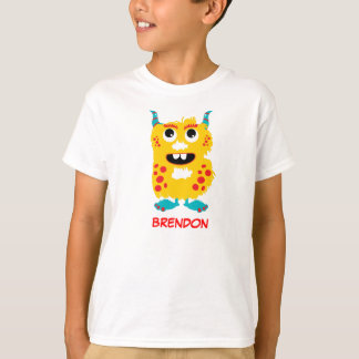 Monster Letters T-Shirt (Letter B)