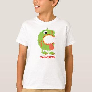 Monster Letters T-Shirt (Letter C)
