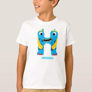 Monster Letters T-Shirt (Letter H)