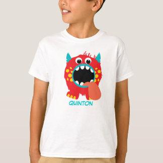 Monster Letters T-Shirt (Letter Q)
