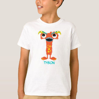 Monster Letters T-Shirt (Letter T)