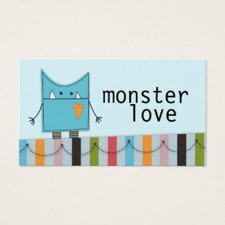 Monster Love Business Cards