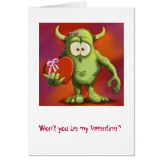 Monster Love Card