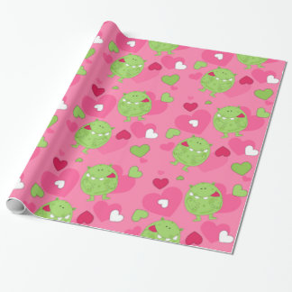 Monster Love Wrapping Paper