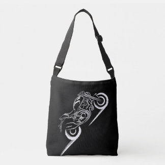 Monster Lover -Black Crossbody Bag