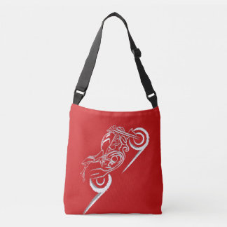 Monster Lover - Red Crossbody Bag