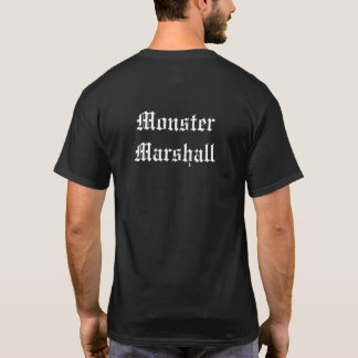 Monster Marshall shirt (see back)