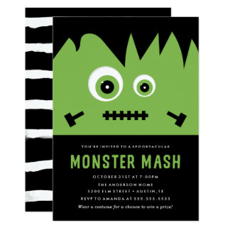 Monster Mash | Halloween Party Invitation