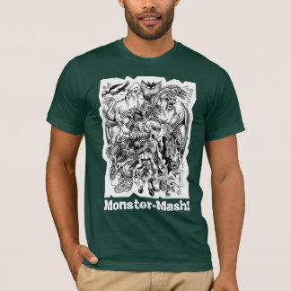 Monster Mash-up Cryptid Zoo Tee