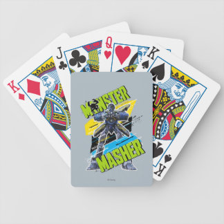Monster Masher Bicycle Playing Cards