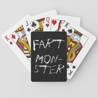 Monster of Farting Playing Cards