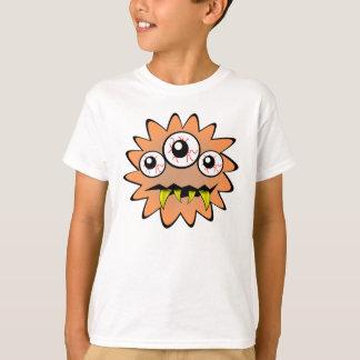 Monster orange funny bacteria t-shirts