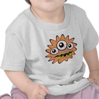 Monster orange funny bacteria t shirt