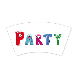 Monster Party Paper Cup