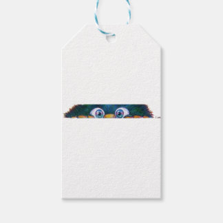 monster peek-a-boo gift tags