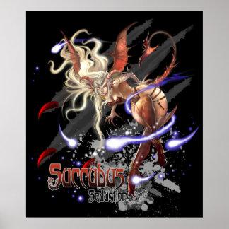Monster Poster - Succubus Seduction