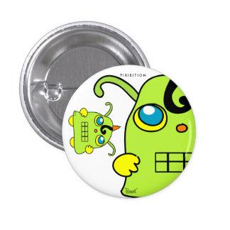 Monster Potato Green Button