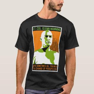 Monster PSA - Lt. Col. Glenn Manning T-Shirt