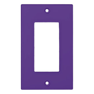 Monster Purple Light Switch Cover
