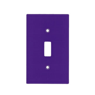 Monster Purple Light Switch Plate