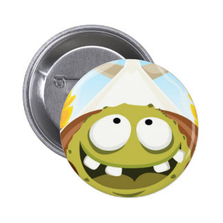 Monster Roger form my Monster series 2 Inch Round Button