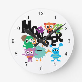 Monster Round Clock