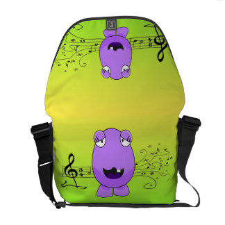 Monster Singing Courier Bags